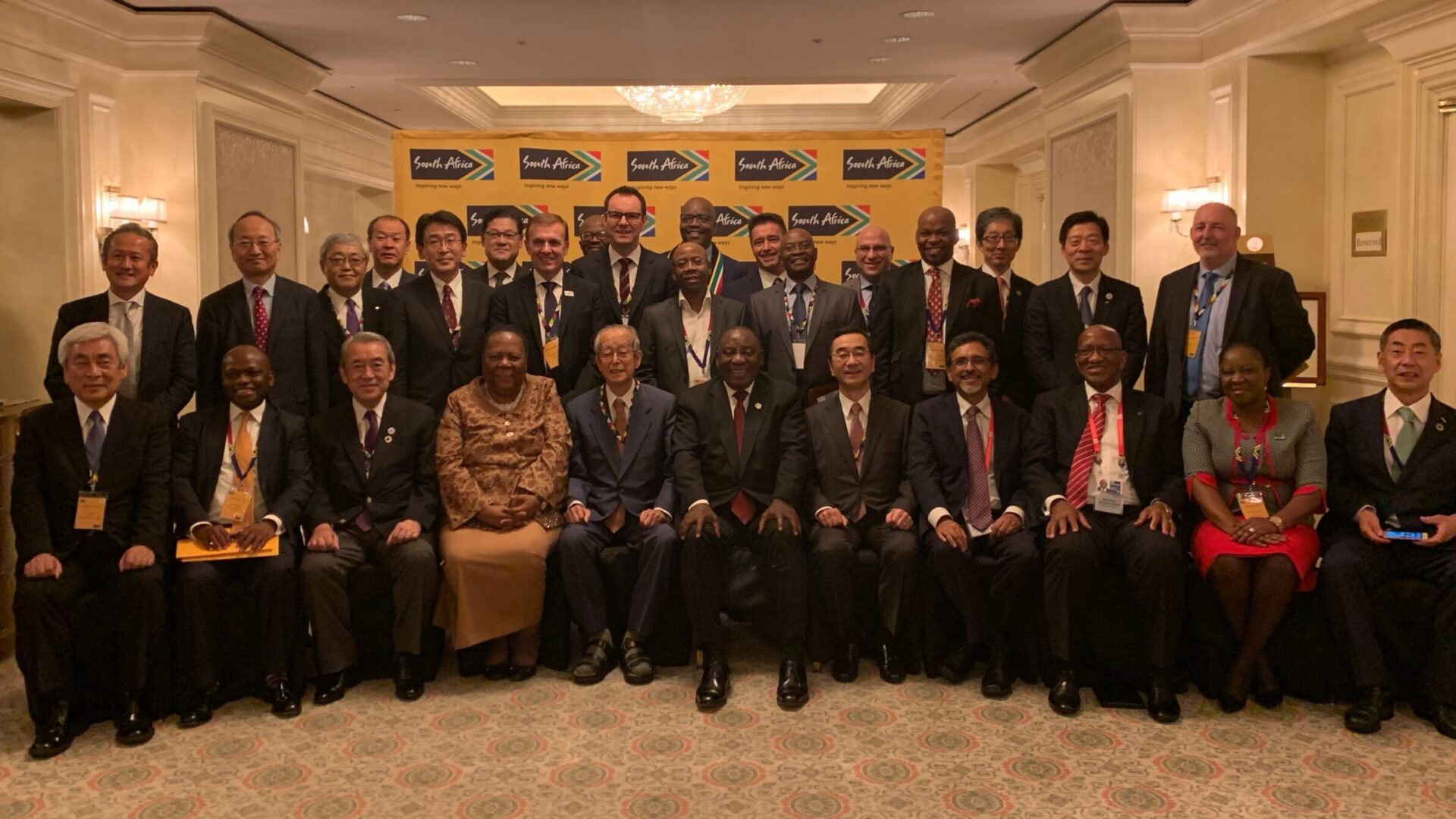 Japan-South Africa meeting held as a side event of G20