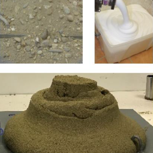 laboratory soil conditioning Porous Alpha for mechanized tunneling