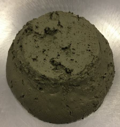 conditioned Rome clay B treated with 15% of Porous Alpha after 48 hours Porous Alpha for mechanized tunneling